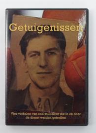 DVD Getuigenissen - afmeting 19 x 13,5 cm - origineel