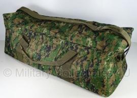 Equipment bag USMC marpat Digital Woodland camo - Extra groot 80 x 31 x 27 cm.