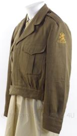 MVO uniform jasje - 1956 - maat 52 - origineel