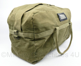 Korps Mariniers en Defensie Parachute tas - 60 x 35 x 30 cm - gebruikt - origineel