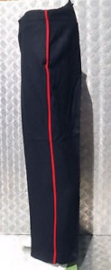 Royal Marines NO1 Dress Trousers uniform broek met rode bies - donkerblauw - maat 185/115/87 - origineel