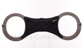 Zilveren politie handboeien merk Civil Defence Supply - origineel
