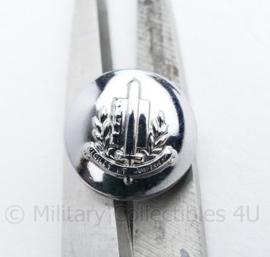 Gemeentepolitie knoop 16 MM zilver - origineel