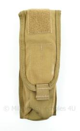 KL Nederlandse leger MOLLE tas voor kniptang - Profile Equipment - Coyote - 24 x 9 x 4 cm - NIEUW - origineel