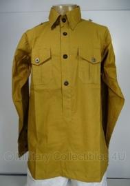 Overhemd / feldjacke SA of ss bruin