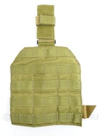 Defensie en US Army Eagle Industries LEG PLATFORM MOLLE beenpaneel met beenriem - nieuw - origineel