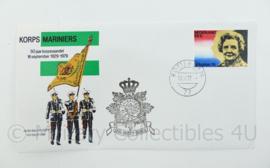 Korps Mariniers Envelop 50 jaar korpsvaandel 1929-1979 - 1e dag van uitgifte- origineel