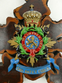 Uniek ontwerp Korps Mariniers wandbord SMD - 25 x 19 x 2 cm - origineel