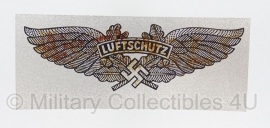 Luftschutz decal - METALLIC - MLS005