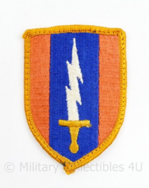 Vietnam oorlog 1st Signal Brigade patch - 8 x 5,5 cm - origineel