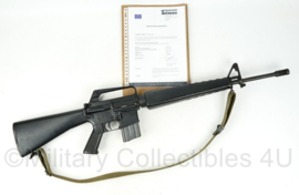US Vietnam oorlog EU DEKO colt M16 geweer met Deactivation Certificate  - 98 x 23 x 7 cm - origineel