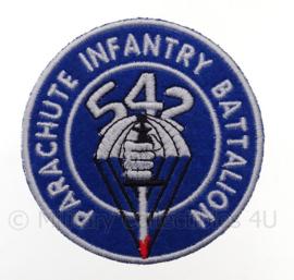 US 542th Parachute infantry battalion embleem -  diameter 9 cm - replica WO2