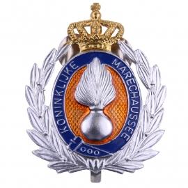 KMAR Marechaussee Hoofdofficier insigne - 6 x 5 cm - origineel
