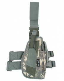 Holster laag rechts -  drop leg holster - ACU camo