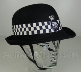 Britse dames politie hoed - Suffolk Constabulary -  maat 7 3/8 (maat 59)  - origineel