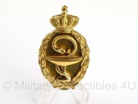 """KL Koninklijke Landmacht borst brevet """"Apotheker"""" - zeer zeldzaam - Metaal - Origineel"""
