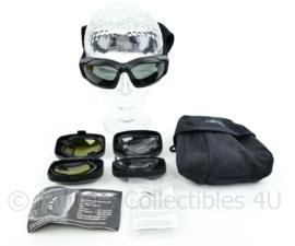 Nederlandse leger ESS Eye Pro V12 tactische bril met luxe opbergtas en glazenhouders - gebruikt - origineel