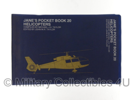 Jane's pocket book 20 zakboek - helicopters - origineel