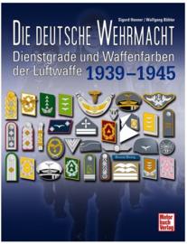 Dienstgrade und Waffenfarben der Luftwaffe 1939-1945
