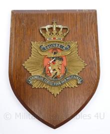 Wandbord Bronbeek Koninklijke tehuis voor oud Militairen - 19 x 14 x 1,5 cm - origineel