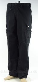 MVD Commando Dienstencentra Ministerie van Defensie broek zwart  - NIEUW - maat 34, 36 of 40 - origineel