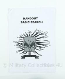 Korps Mariniers en Defensie Handout basic search AETP naslagwerk - origineel