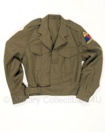 Ike jacket met US embleem -  origineel
