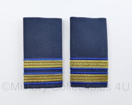 KLU Koninklijke Luchtmacht GLT Gala uniform epauletten paar - Kapitein - origineel