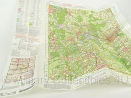 KL Nederlandse leger topografische kaart 2005 1:50 000 - 57 Oost Valkenswaard - origineel