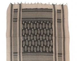 Shemagh PLO sjaal- Desert met Handgranaten