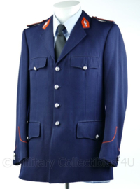 Belgische Rijkswacht uniform jas met insignes - maat Large - Origineel