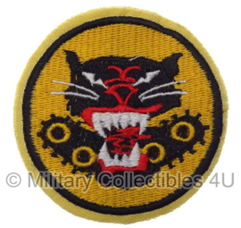 WWII US Tank Destroyer's Forces patch cut edge - 6 x 6,5 cm replica