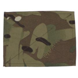 Britse leger MTP camo klittenband afdekking 13 x 10 cm. ONGEBRUIKT - Blanking plate without Union Flag - PER PAAR origineel