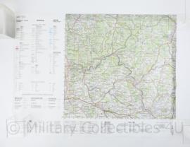 Duitse Stafkaart C6718 Heidelberg - 1 : 100.000 - 55 x 75 cm - origineel