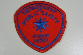 Department of Public Safety Highway patrol patch - origineel