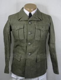 Feldgrau wollen uniform jas - Marine knopen - ook als Duits wo2 geschikt