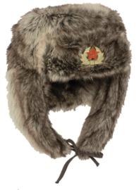 Russische SHAPKA bontmuts - meerdere maten - nagemaakt