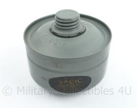 Belgisch  EV639 gasmasker filter 1939 Brevete F39P - origineel