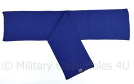 KMAR Marechaussee  sjaal felblauw - 85 x 20 cm - NIEUW in verpakking - origineel