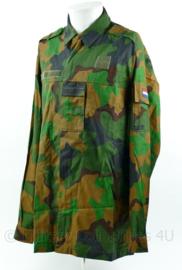 Korps Mariniers nieuwste model jungle camo permetrhrine basis jas - maat 8000/0005 - NIEUW - origineel