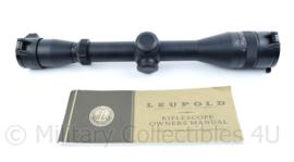 scope richtkijker Leupold VX-2 3-9X33 RIMFIRE EFR - nieuwstaat -30,5x5x4cm- origineel
