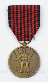 Belgische oorlogvrijwilliger 1940-1945 medaille - origineel