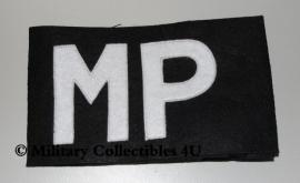 Armband MP - Military Police - zwart