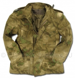 US Field Jacket with liner M65 - Mil-tacs Forest Green FG camo - Small, XL of XXL