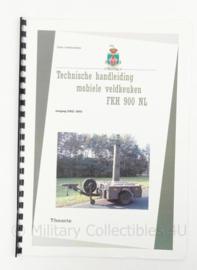 KL Koninklijke Landmacht technische handleiding mobiele veldkeuken Manual FKH900NL - origineel