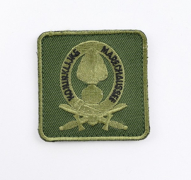 KMAR Koninklijke Marechaussee borstembleem - met klittenband - 5 x 5 cm - origineel