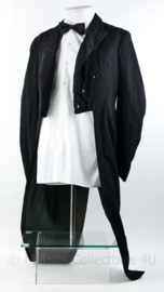 Heren kostuum Jacquet  jas lang - maat S -  origineel