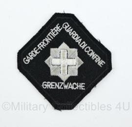 Zwitserland Garde Frontiere Grenzwache embleem - origineel