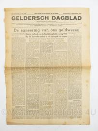 Krant Geldersch dagblad van 13 september 1945 - origineel