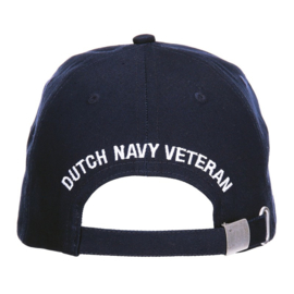 Baseball cap KM Koninklijke Marine Dutch Navy Veteran - blauw